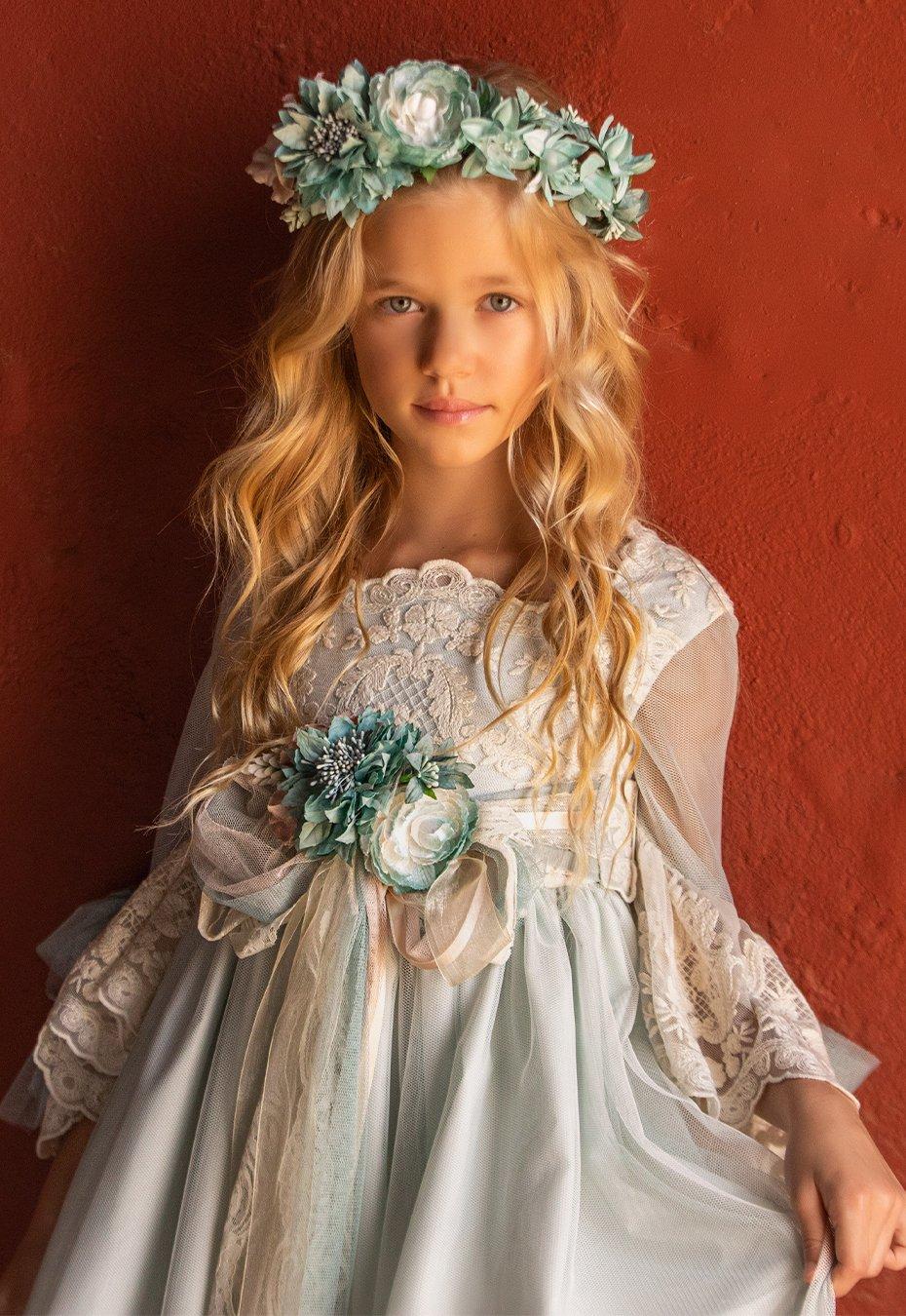 Vestido de comunión Alborea niña