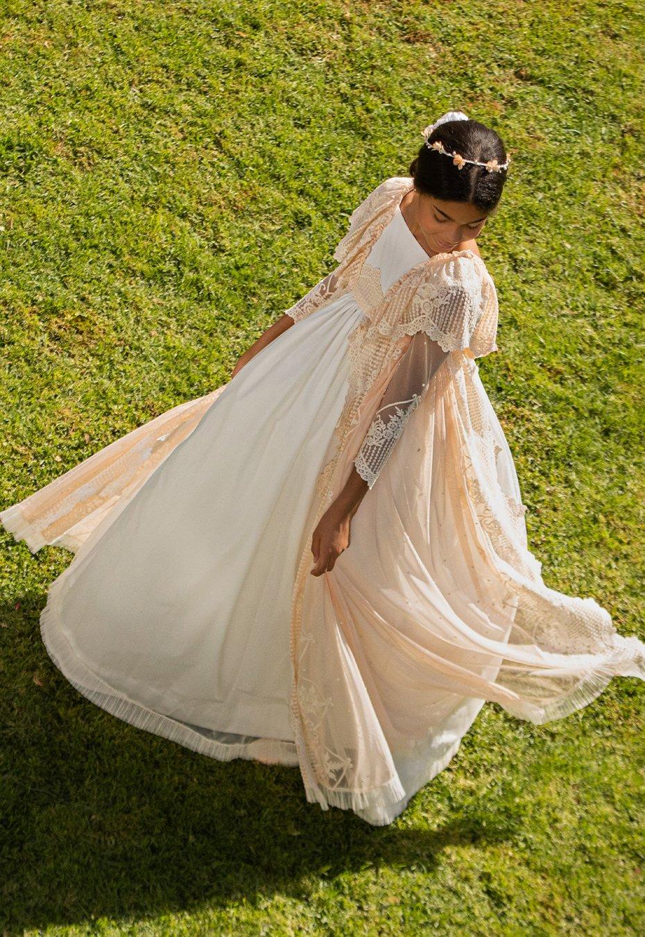 Vestido de comunión niña Milonga
