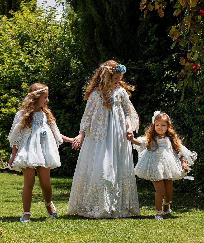 Vestido de comunión Tomasa Tanto y Malena niña