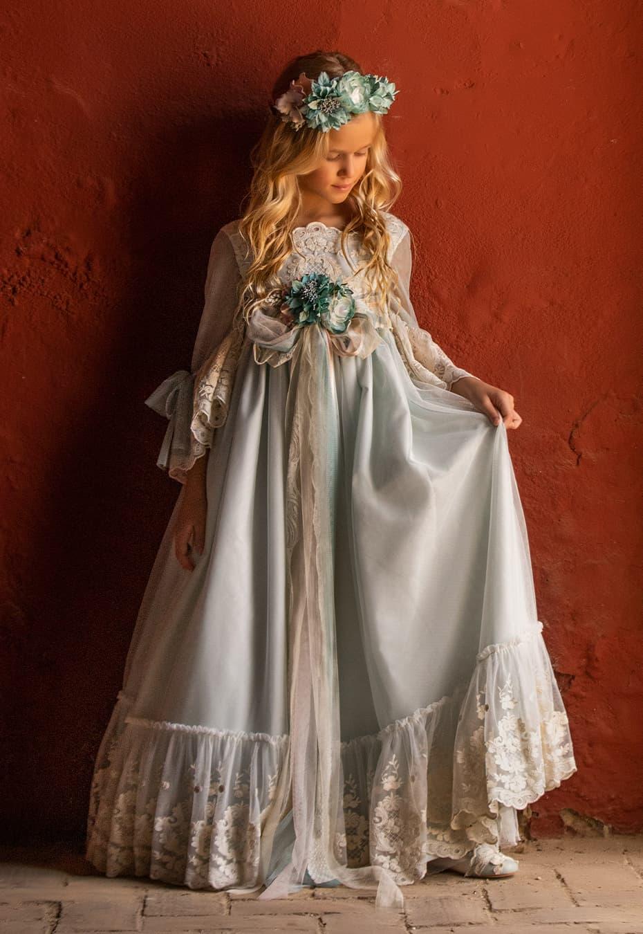 Vestido de comunión niña 2021 Alborea