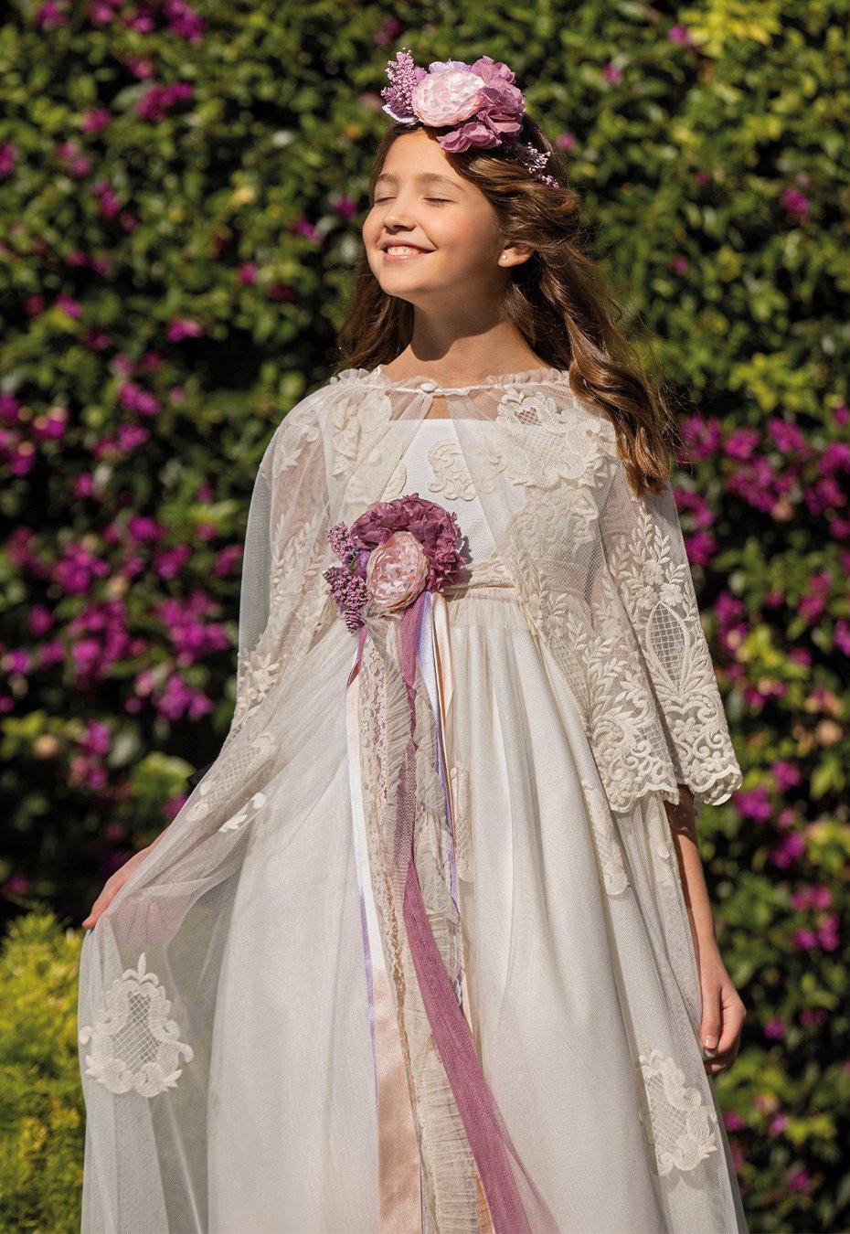 Vestido de comunión niña 2021