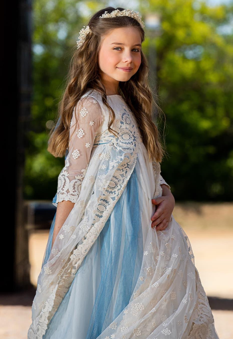 Vestido de comunión Petenera Mercedes de Alba